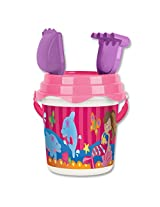 Stephen Joseph Beach Bucket Dolphin/Mermaid, Multi Color