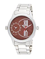 Giordano Analog Brown Dial Men's Watch - 60073 Brown - P12403