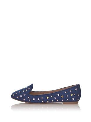 Silvia Kelvin Zapatos Slippers (Azul Oscuro)