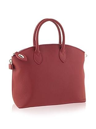 Valentina Italy Henkeltasche Shopper rot one size