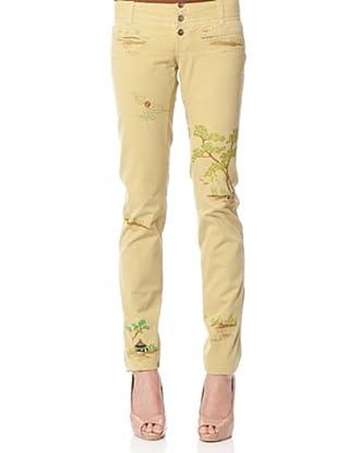 Custo Pantalón Coshy (Camel)