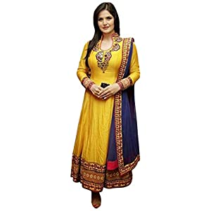 S1023_Zarine Khan Anarkali Suit