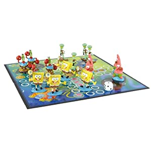 United Labels - SpongeBob SquarePants Board Game Never Mind!
