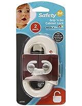Safety 1st 2 Pack Grip n' Go Cabinet Lock
