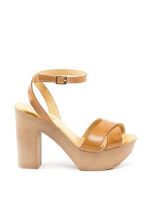 Misu Sandalette Satur (Hellbraun)