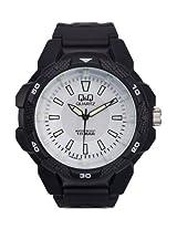 Q&Q Analog White Dial Unisex Watches - VR54J005Y