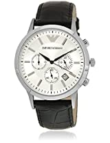 Ar2432I Black/Silver Chronograph Watches