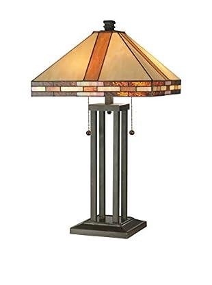Dale Tiffany Mission Table Lamp, Multi