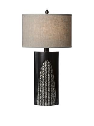 Allison Davis Troy Table Lamp, Bronze
