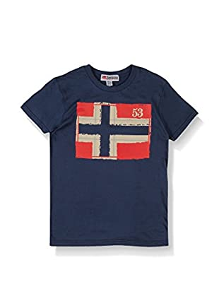 Geographical Norway T-Shirt Manica Corta