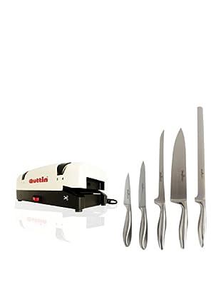 Quttin Cuchillos Del Chef + Afilador