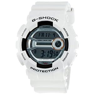 Casio-GD-110-7DR G Digital Men's Watch-White