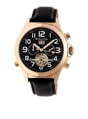 Heritor Automatic Uhr Adams Herhr2705 schwarz 50  mm
