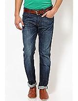 Blue Slim Fit Jeans John Players