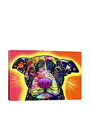 Dean Russo Love A Bull Gallery Wrapped Canvas Print