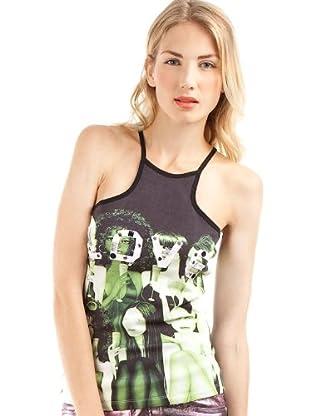 Custo Camiseta Roline Sos (Negro)