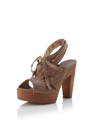 Fiel Women's Makira Woven Strap Heel (Mauve)