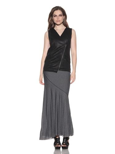 under.ligne by Doo.Ri Women's Asymmetrical Vest (Black)