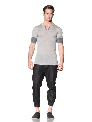 Nicholas K Men's Luka Sweater (Light Grey)