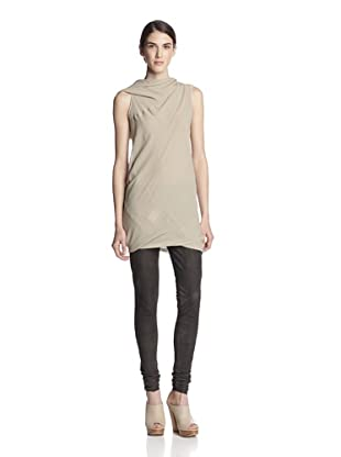 Rick Owens Women's Shoulder Drape Top (Vanilla)