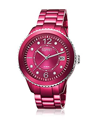 Esprit Reloj de cuarzo Woman Marin Aluminium Raspberry 37 mm