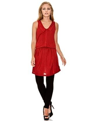 Springfield Vestido Casual (Rojo)