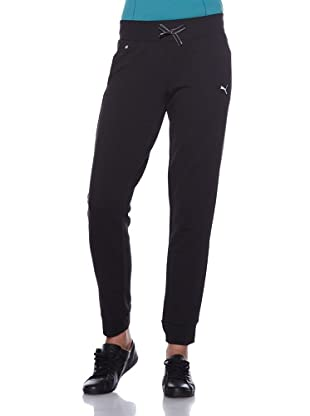 PUMA Hose Move Slim Pants (Black/Black)