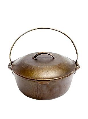 Vintage Cast Iron Crock Pot, c. 1900s