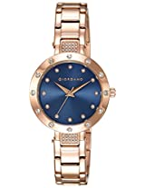 Giordano Analog Blue Dial Women's Watch - 2727-77