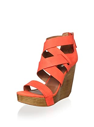 Matiko Women's Stacey Wedge Sandal (Papaya)