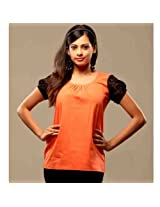 Swank Orange with Black SleevesDesigner Wear