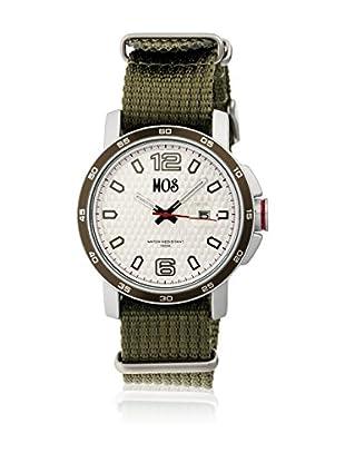 Mos Reloj con movimiento cuarzo japonés Moseb103 Oliva 43  mm