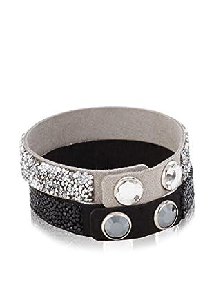 Swarovski Armband-Set  schwarz