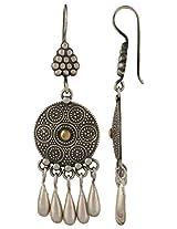 Haat4Art 925 Silver With Gold Plating Dangle & Drop Earrings for Women (DC2FC5E26FE)