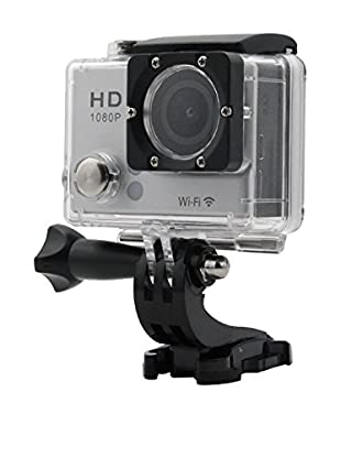 iPM 1080P HD Waterproof Sports Action Camera with Wi-Fi, Black