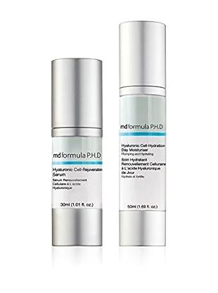 MD FORMULA  Beauty-Set 2 tlg. Hyaluronic Cell Hydration Day Moisturiser, Hyaluronic Cell Rejuvenation Serum