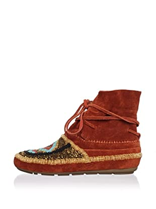 House of Harlow 1960 Women's Madison Moccasin (Rust)