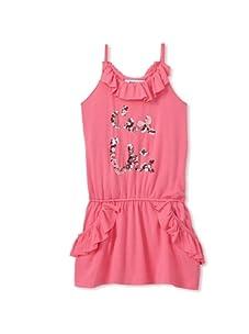 Sonia Rykiel Girl's C'est Chic Ruffle Tank (Pink)