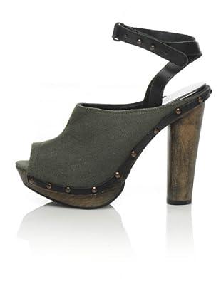 Diesel Clog-Sandalette Moody Woody (military grün)