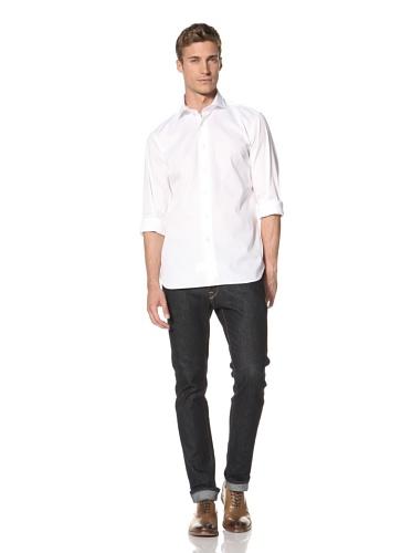 Orian Men's Button-Up Shirt (White)