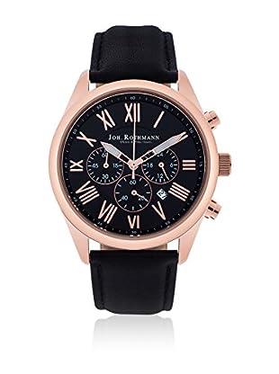 Joh. Rothmann Uhr mit japanischem Quarzuhrwerk 10030027 schwarz 42.5 mm