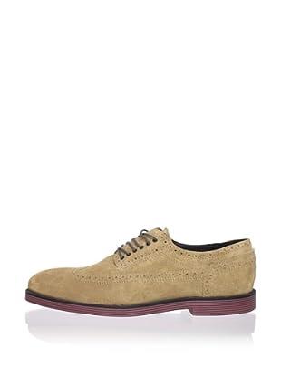 Swear Men's Logan 3 Shoe (Tan Suede/Red Sole)