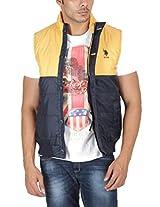 US Polo Assn. Men's Jacket (USJK0312_Multi-Coloured_XXL)