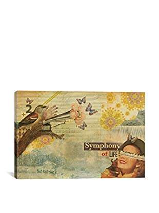 Marcel Lisboa Symphony of Life Gallery-Wrapped Canvas Print