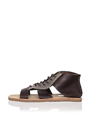 J Artola Men's Delano Sandal (Dark Brown)