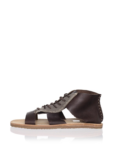 J Artola Men's Delano Sandal (Dark Brown)