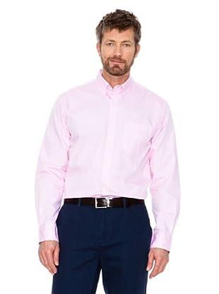Cortefiel Unifarbenes Hemd (Hellrosa)