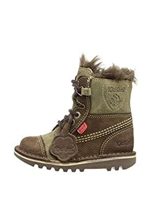 Airborne Footwear Ltd. Botas Maine (Marrón / Verde)