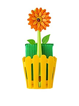 VIGAR Kit de Limpieza 3 Piezas Flower Power Naranja / Amarillo / Verde
