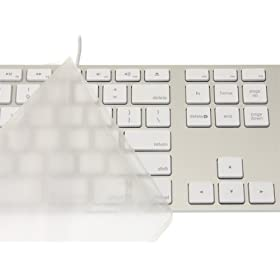 Micro Solutions キーボードカバー・Pure Touch Key Protector #101 for Apple Keyboard / PTKP101